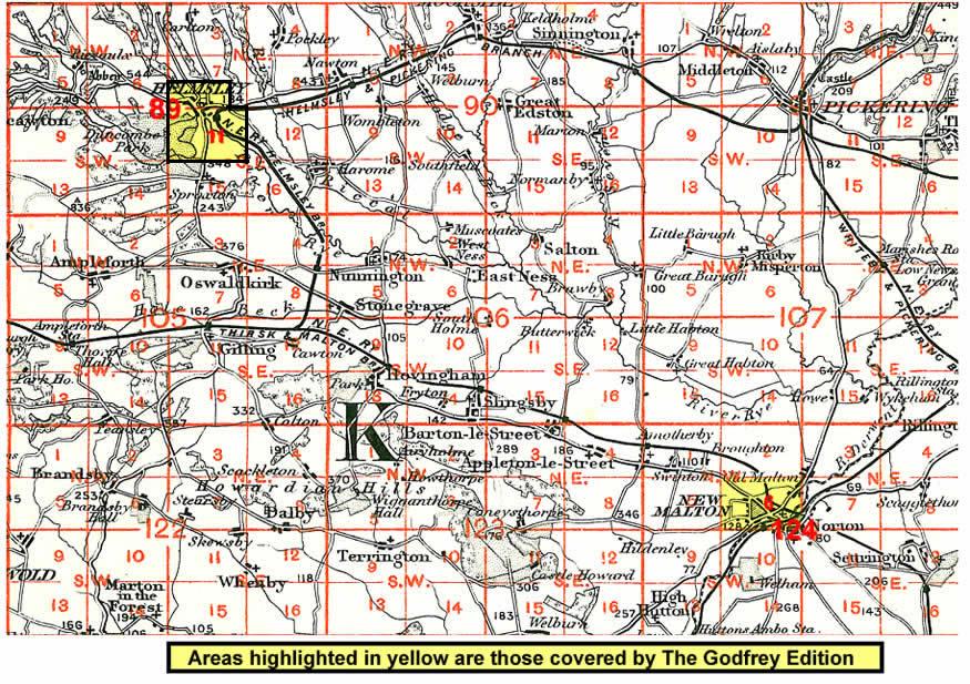 Old Maps Of Malton Norton